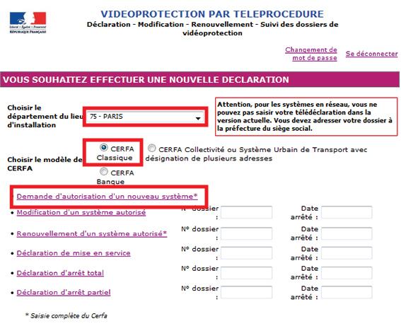 Bien Remplir Le Formulaire Prefectorale Videosurveillance
