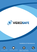 Brochure commerciale videosafe recto